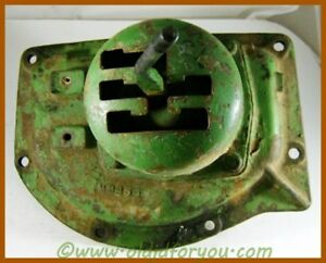 M3958t john Deere 420 4 Speed Transmission Top Cover Shifter Assembly M3970t
