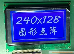 New For Tg240128a 07t Led Lcd Blue Screen Display Panel h2564 Yd