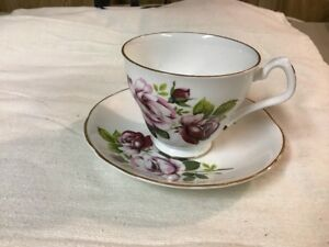 Royal Imperial Antique Bone China Tea Cup And Saucer Mint