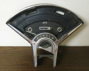 Vintage Oem 55 56 Chevy Instrument Cluster For Automatic Transmission