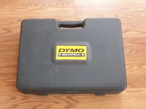 Portable Handheld Label Maker Dymo Rhinopro 5000 With Case Ink