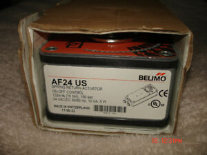 Belimo Af24 Us Spr Ret On off Control 24 Vac dc 133 In lbs new In Box