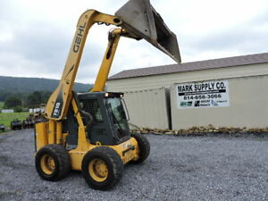 2008 Gehl 7810 E Series Rubber Tire Skid Steer Loader 99 Hp Cummins Turbo Diesel