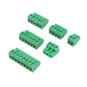 Female Screw Terminal Block Connector Ht508k 2 3 4 5 6 8pin 5 08mm Pitch 300v