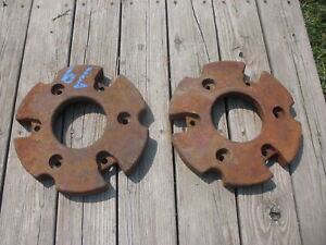 Farmall Tractor Front Wheel Weights 6788 d For A b c h m Ask About Shipping