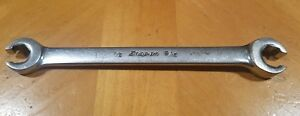 Snap On 1 2 9 16 6pt Sae Double End Flare Nut Wrench Standard Imperial Usa
