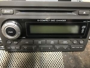 06 07 Honda Ridgeline Radio 6 Disc Cd Changer Player Stereo 39100 sjc a100