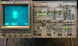 Tektronix 2246 Analog 100mhz Oscilloscope 4 Channel