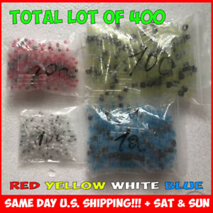 400 Pcs Solder Sleeve Heat Shrink Butt Waterproof 26 6 Awg Wire Splice Connector