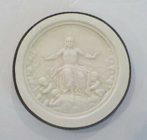 Authentic Grand Tour Classic Plaster Cameo Intaglio Medallion C 1820 4