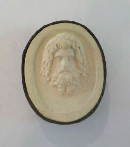 Authentic Grand Tour Classic Plaster Cameo Intaglio Medallion C 1820 12