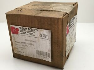 Federal Signal 50gc 120bg Selectone Speaker Amplifier 120vac Biege