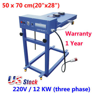 20 X 28 Automatic Flash Cure Unit For Screen Printing Machine 12kw Us Stock