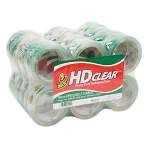 Heavy duty Carton Packaging Tape 1 88 X 55yds Clear 24 pack