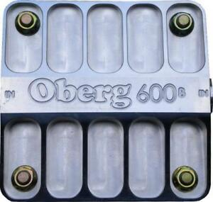 Oberg Filters 6060 12 An 60 Micron Stainless Element 600 Series Fluid Filter