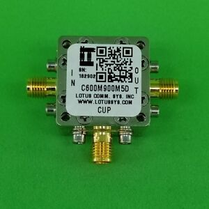 Directional Coupler 600 Mhz To 900 Mhz 5db 70w Low Insertion Loss