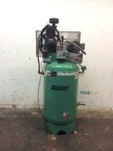 Speedaire Air Compressor 1wd58 Electrical Vertical Tank 5hp 80 Gal