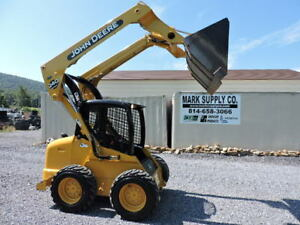 Nice 2004 John Deere 240 Rubber Tire Skid Steer Loader Diesel 245 Original Hours