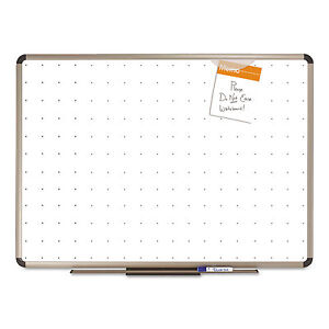 Quartet Prestige Total Erase Whiteboard 96 X 48 White Surface Euro Titanium