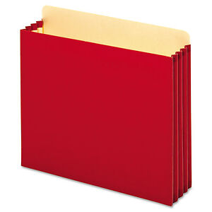 Cardinal File Cabinet Pockets Straight 1 Pocket Letter Red Fc1524pred