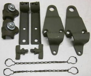 Mb Gpw Willys Ford Wwii Jeep G503 Top Bow Bracket Set Mb