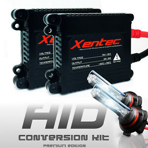 Xenon Hid Headlight Kit 2 Bulbs Ballasts H11 9005 9006 9007 Hi lo 9012 H10 880