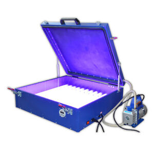 Vacuum Uv Exposure Unit 24 X 26 Precise Screen Printing Compressor 240w 110v