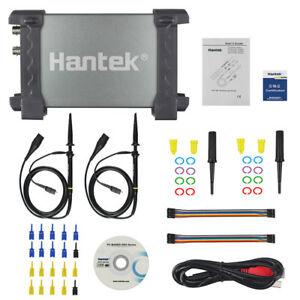 Hantek 6022be Pc Usb Portable Digital Storage Oscilloscope 48msa s 20mhz 2chs