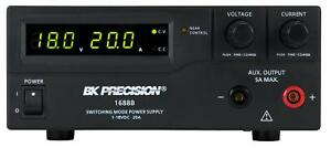 Bk Precision 1688b 18v 20a 360w Dc Power Supply New