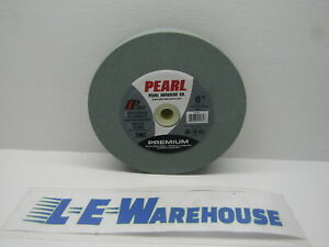 Pearl Abrasive Bench Grinding Wheel 6 X 1 X 1 Iron Carbide