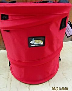 Collapsible Basic Rope Bag Hold 150ft Red
