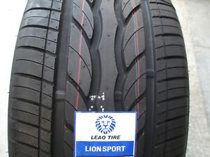 2 New 255 30r22 Lion Sport Tires 255 30 22 2553022 R22 30r