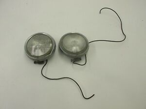 1969 Mercedes Benz W114 250c Coupe Hella Fog Light Pair
