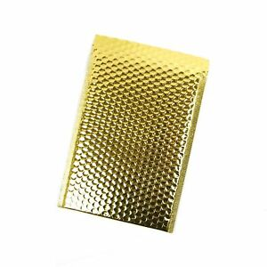 Inspired Mailers Metallic Gold Bubble Mailers 9x12 7 8x11 5 Inside Pack O