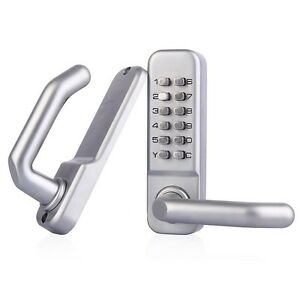 Mechanical Lock Waterproof Lever Handle Mechanical Combination Yard Door Lock