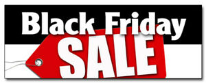 48 Black Friday Sale Decal Sticker Special Discounts Save Huge Low Prices