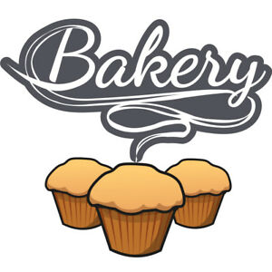 Bakery 36 Concession Decal Sign Cart Trailer Stand Sticker Equipment