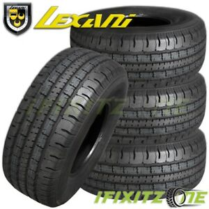 4 X Lexani Lxht 106 P225 70r16 101t All Season Performance Suv Light Truck Tires