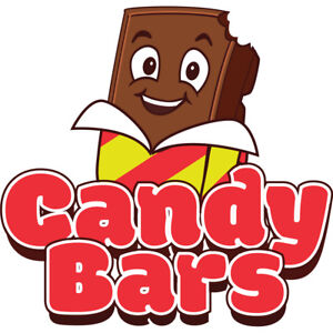 Candy 48 Concession Decal Sign Cart Trailer Stand Sticker Equipment