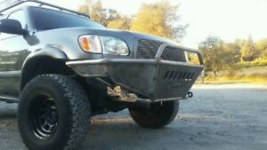 Hot Metal Fab 2000 2006 Toyota Tundra Tube Plate Front Bumper
