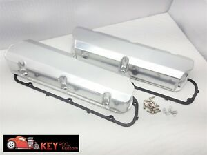 Ford Fabricated Welded Valve Covers Tall Satin Aluminum 289 302 351w Sbf No Hole