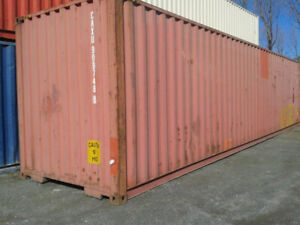 40ft Standard Shipping Container wind Watertight For Sale In New York Ny