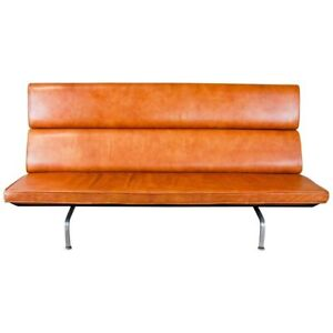 1958 Charles And Ray Eames Designed Fold Down Compact Sofa For Herman Miller
