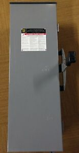 Schneider Square D Dtu323rb Retail 1900 Double Throw Safety Switch Enclosure