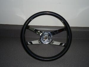 Superior 500 Steering Wheel 4 spoke 12 Vintage Dragster Gasser Drag Car Rat Rod