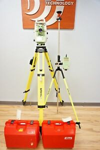 Leica Tcrp1230 R100 Reflectorless Robotic Total Station 3 Sec 1203