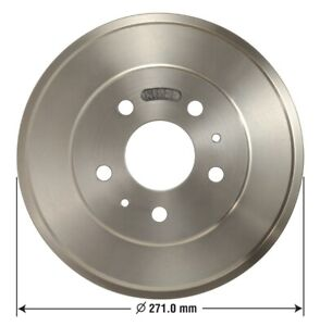 Brake Drum Rear Omniparts 13034095 Fits 15 16 Ford Focus
