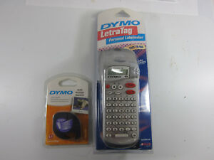 Dymo Letra Tag Personal Labelmaker With 1 extra Refill new