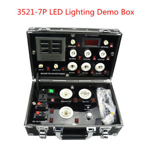 Led Lighting Demo Box Led Digital Display Test Box Led Show Case 3521 7p