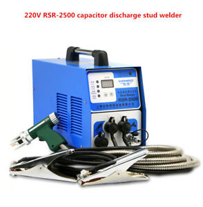 220v Capacitor Discharge Stud Welder For Welding Bolt Plate Insulation Nail Y
